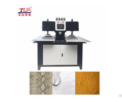 Automation Heating Garment 3d Labels Embossing Machine