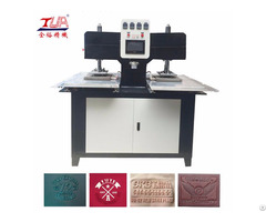 Supply 2 Heads 3d Labels Embossing Machine