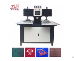 China Shoes Trademarks Heating Embossing Making Machine