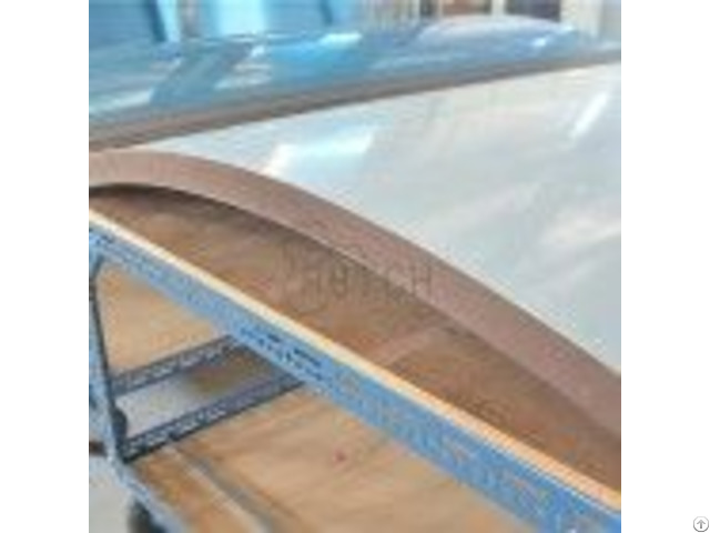 Curved Honeycomb Panel