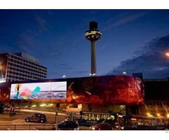 Outdoor Led Display For Advertising Full Color 10mm Pixel Pitch