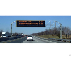 Vms Variable Message Sign P10 Full Color