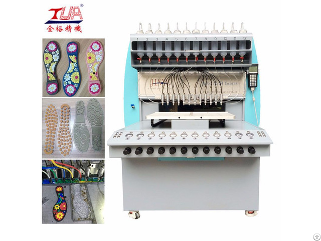 Pvc Shoe Sole Dropping Machine