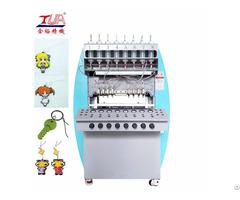 Russian World Cup Gift Soft Pvc Keychain Dispensing Machine