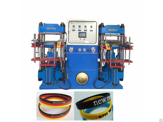 The World Cup Athletes Wear Silicone Wristband Making Machine