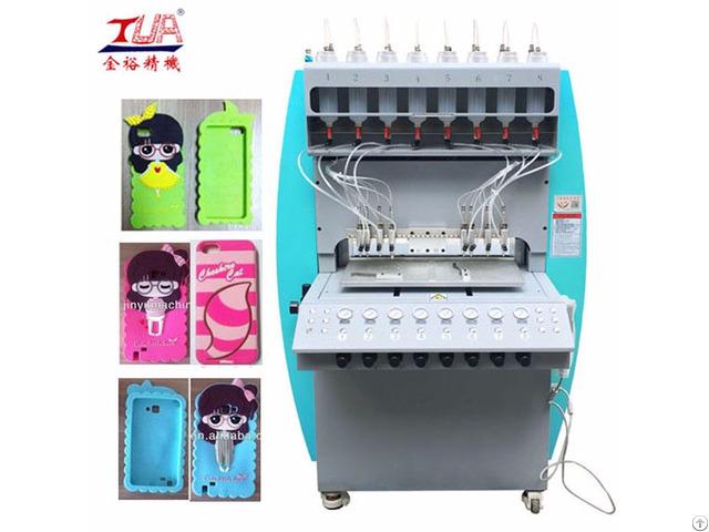 Multi Functions Silicone Phone Cover Dispensing Machine Equipment