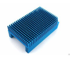 Blue Anodized Bga Heat Sink