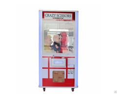 Crazy Scissors Gifts Vending Machine Cut Prize Amusement Game