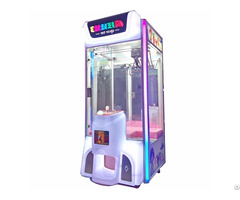 Coin Operated Gift Crane Claw Machine Crazy Toy 3 Prize Games