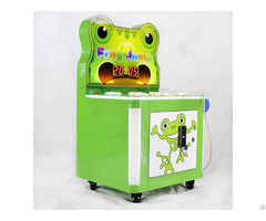 Whack A Frog Mole Hitting Hammer Game Machine Coin Operated Redemption Kids Games