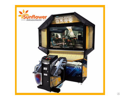 Ghost Operation Coin Operated Shooting Machine War Simulator For Game Center