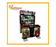 Razing Storm Classical 2 Players Shooting Game Machine