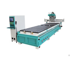 Cnc Nesting Machine With Double Zones Missile Sd9 Sd6 Sd4