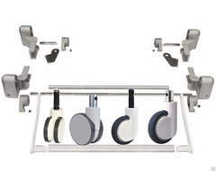 Central Locking Caster Wheels System