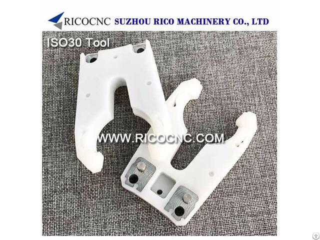 Iso30 Tool Holder Forks Cnc Router Grippers For Woodwroking Machine