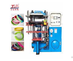 Silicone Rubber Bracelet Making Machine Equipment