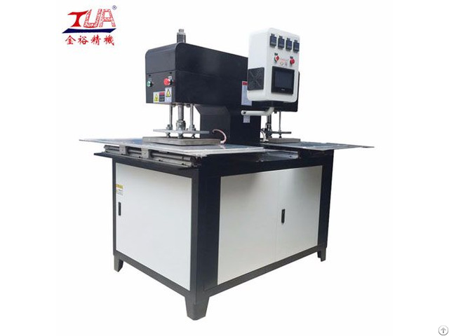 Textiles Silicone Logo Labels Embossing Machine Equipment
