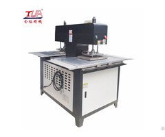 Two Heads 3d Jeans Labels Embossing Machine