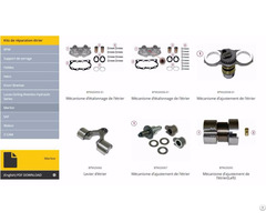 Brake Caliper Spare Parts For Trucks Buses Trailers