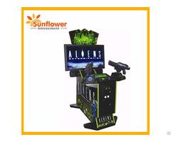 Factory Supply Allien Gun Shooting Game 42 Lcd Arcade Machines