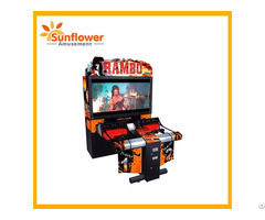 "Ramboo Simulator Games 55"" Lcd Arcade Shooting Machines"