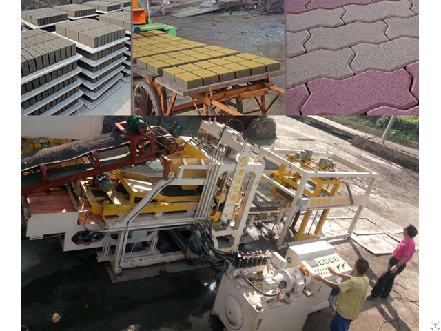 Top Quality Manufacture Price Multi Purpose Hydraulic Paving Brick Making Machine
