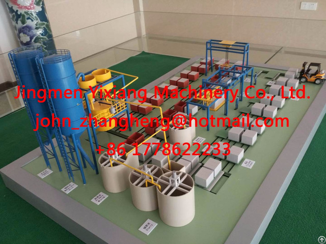 Non Autoclaved Aerated Blocks Cellular Lightweight Concrete Clc Brick Making Machine