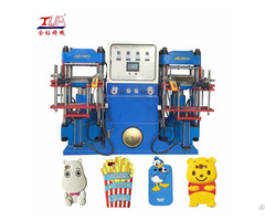 Double Heads Silicone Mobile Case Hydraulic Machine