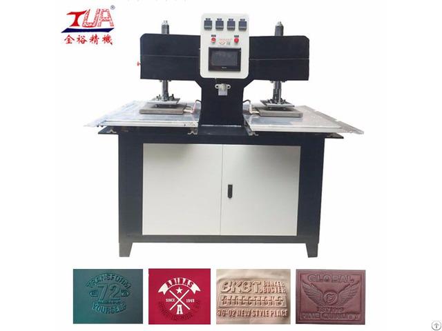 Clothes Embossing Machine Equipment Heat Press T Shirt Logo