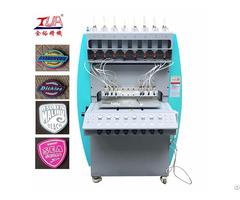 Automatic Machine Making Pvc Rubber Label
