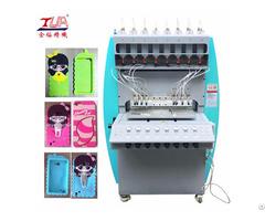 Souvenir Silicone Product Mobile Phone Case Hydraulic Machine