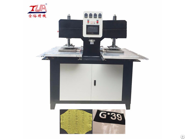 Silicon Wristband Hydraulic Automatic Heating Embossing Machine