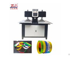 Silicon Wristband Automati Embossing Machine