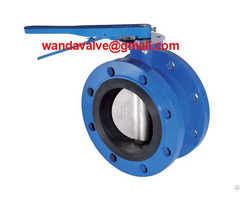 Cast Iron Flanged Butterfly Valve