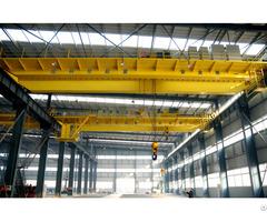 New European Single Girder Overhead Crane For Sale
