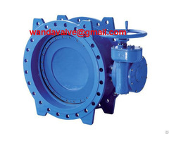 Cast Iron Double Eccentric Butterfly Valve