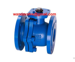 Din Pn16 Cast Iron Ball Valve