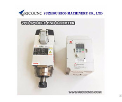Cnc Router Spindle Motor And Vfd Inverter Drive Kit