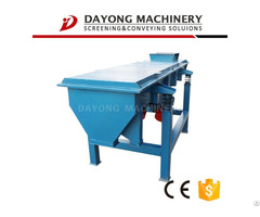 Sand And Gravel Linear Vibrating Sieve Machine