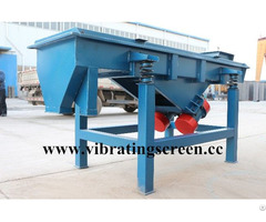 Linear Sand Vibrating Sieve Machine