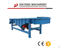 Energetic Mineral From Linear Vibrating Screen