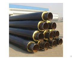 Hdpe Jacket Insulation Pipe A53 Gr B Dn250