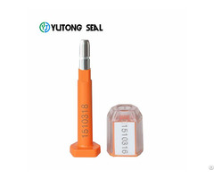 High Security Cargo Container Bolt Seal For Sale