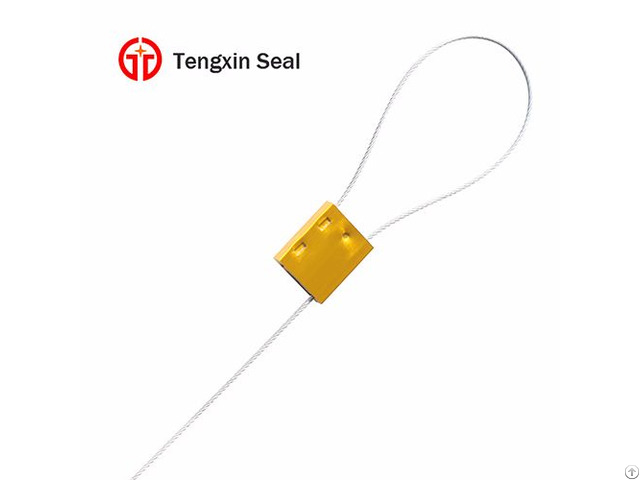 Aluminium Alloy Wire Cable Lock Seal For Cargo Container
