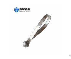 Tamper Proof Disposable Flat Metal Truck Seal