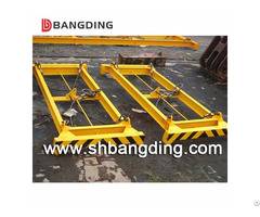 Hydraulic Semi Automatic Container Spreader Iso Standard