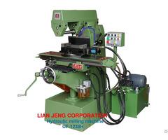 Hydraulic Milling Machine 1230h Lian Jeng Corp