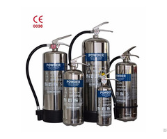 Stainless Steel Extinguisher
