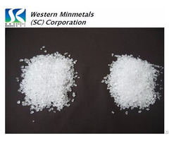 High Purity Silicon Dioxide At Western Minmetals Sio2 99 999%