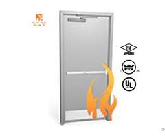 Ul Certificated Fire Proof Hollow Metal Door